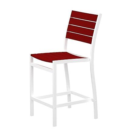 Amazon.com: Euro contador Side silla asiento y respaldo ...