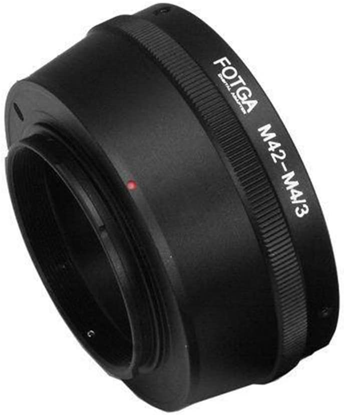 M42-M4//3 Adapter Ring for M42 Lens to Micro 4//3 Mount Camera Lens Adapter for Olympus Panasonic DSLR Cameras
