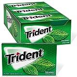 Trident Spearmint Sugar Free Gum, 12 Packs of 14
