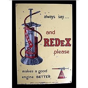 Photographic Print of Redex Petrol Additive