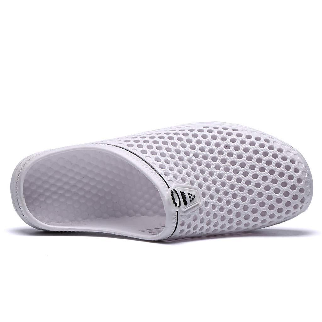 SFE Garden Clogs Anti-Slip Beach Shower Sandals Slip on Massage Outdoor Walking Summer Slippers for Womens Mens