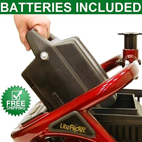 Literider Scooter, PTC, Envy Battery Pack with