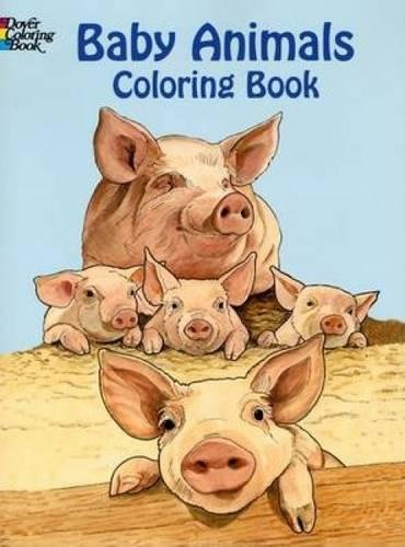 Baby Animals Coloring Book (Dover Coloring Books) pdf epub