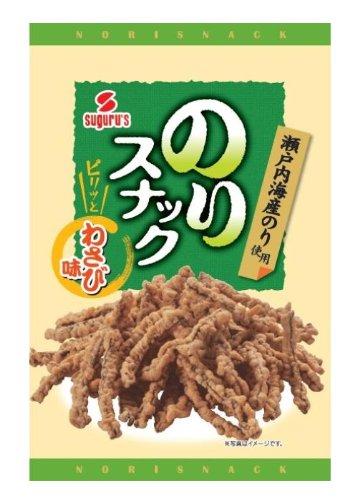 Suguru food seaweed snack wasabi taste 35gX12 bags