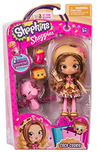 Shopkins Shoppies Doll Single Pack - Coco Cookie -