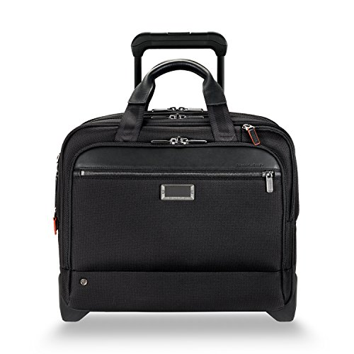 Briggs & Riley @work Medium 2-wheel Expandable Briefcase, Black ()