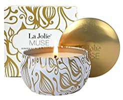 LA JOLIE MUSE Aromatherapy Scented Candl...