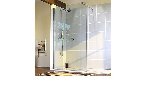 Mampara de ducha fija 10 mm Sturdy – 100 cm: Amazon.es: Hogar