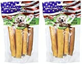 (2 Pack) Best Buy Bones Nature's Own Moo Tails Pet Chews