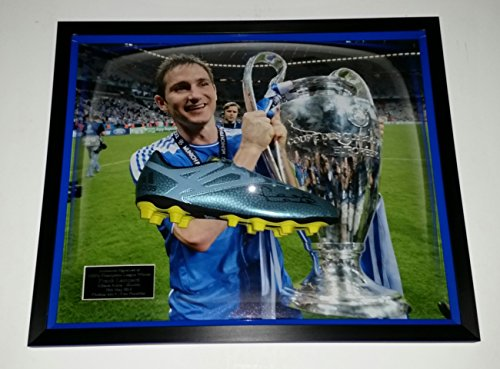 Rare Frank Lampard signiert Fußballschuh