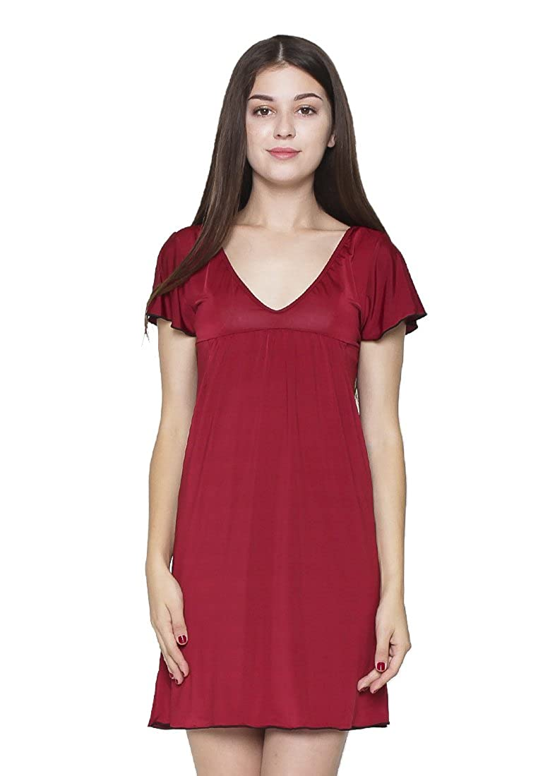 3f8c9787d Sexy Sleep Nightgown Harper Made Of Hight Quality Premium Spandex In Smooth  Silky Modern Style. at Amazon Women s Clothing store