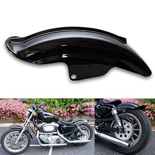 Motorcycle Narrow Rear Fender Mudguard For Harley Sportster 883 1200 XL Cruiser Chopper Bobber Cafe Racer Custom 1994-2003 Black (Fenders Sportster Custom)