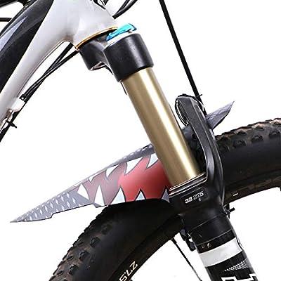 Kalttoy Guardabarros para bicicleta ultrafino delantero de ...