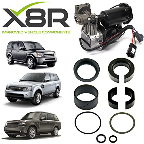 LAND ROVER RANGE ROVER SPORT AIR COMPRESSOR REPLACEMENT PISTON SEALS REPAIR KIT PART: X8R27 ()