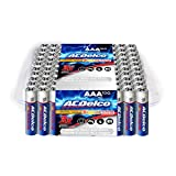 ACDelco Super Alkaline AAA Batteries with LED Keychain Flashlight, 100-Count