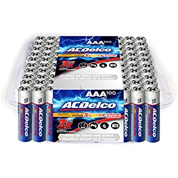 Amazon Com Acdelco Aaa Batteries Super Alkaline Aaa