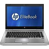 HP EliteBook 8470P 14 Notebook PC - Intel Core i5-3320M 2.6GHz 8GB 128G SSD DVDRW Webcam Windows 10 Pro (Certified Refurbished)