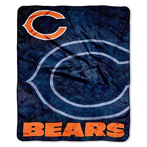 NFL Roll Out Raschel Throw NFL Team: Chicago Bears
