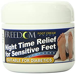 Advocate Freedom Night Time Foot Cream, 2 Ounce