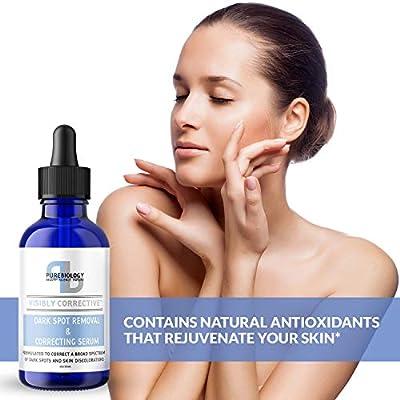 Dark Spot Corrector for Face – Vitamin C Serum with Vitamin E & Breakthrough Anti Aging Skin Care Complex – Lighten Dark Spots, Fade Acne Scars & Brighten Skin Tone for Men & Women