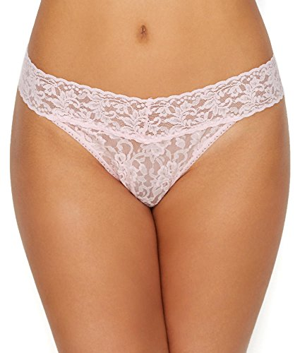 (Hanky Panky Signature Lace Original Rise Thong 5-Pack, One Size,)