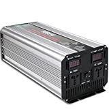 3000W Power Inverter DC 12V to 110V AC Pure Sine Wave Inverter Converter Single Phase Peak 6000W 50Hz/60Hz For Car home olar energy