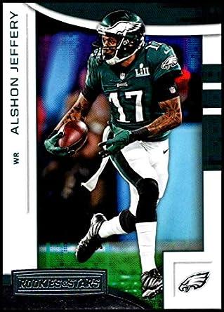 f07250c7dd5 2018 Rookies and Stars Football  9 Alshon Jeffery Philadelphia Eagles  Official NFL Trading Card Produced