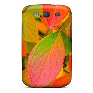 Forever Collectibles Autumn Leaves Colors Hard Snap-on Galaxy S3 Case