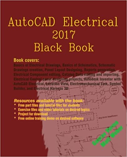 Book AutoCAD Electrical 2017 Black Book