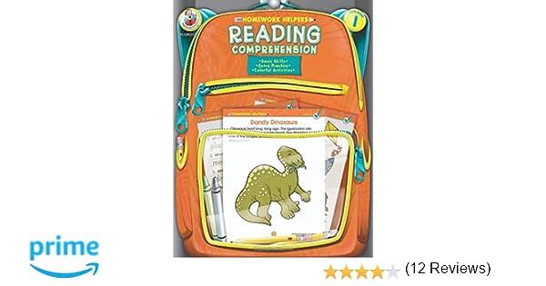 Amazon.com: Reading Comprehension, Grade 1 (Homework Helper ...