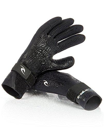 (Rip Curl E-Bomb Stitch LS Glove Wetsuit, Medium/2mm, Black)