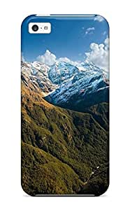 Hot New Earth Mountain Case Cover For Iphone 5c With Perfect Design