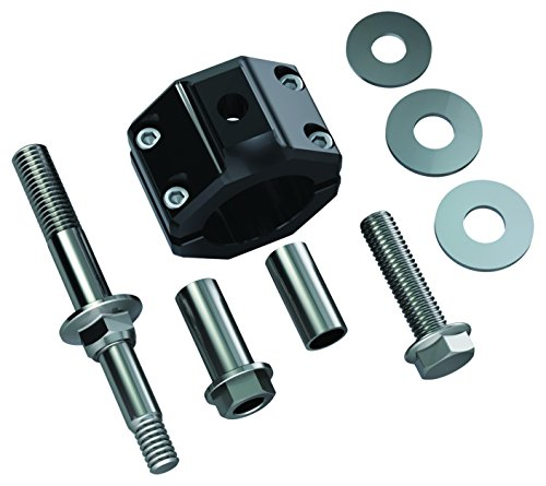 (TeraFlex 1123160 Steering Stabilizer Relocation Bracket Kit (JK (for HD 42mm Tie Rod)) )