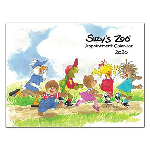 (2020 Suzy's Zoo Appointment Calendar (9x12))