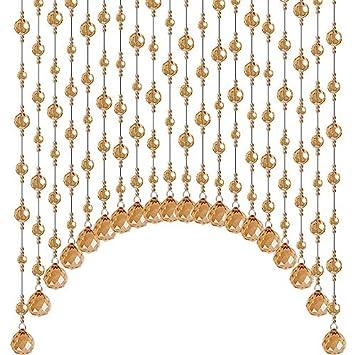 Ljshu Rideau De Cristal Perle Rideau Salle De Bains Rideau