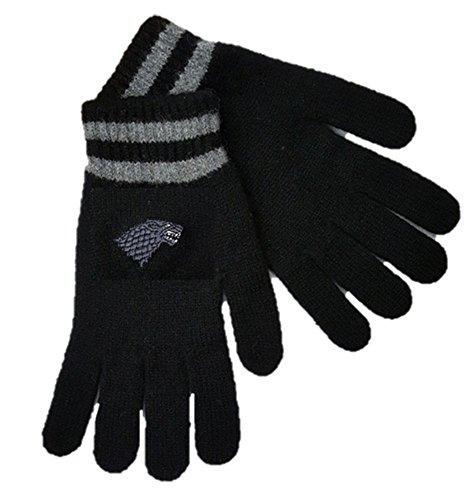 Game of Thrones Stark Gloves - Handmade Lambswool (Mens)