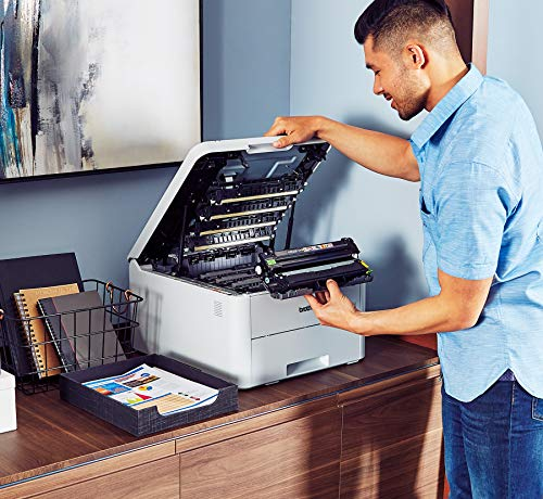 Brother HL-L3210CW Compact Color Providing Printer Quality Results Wireless, Amazon Dash Enabled,