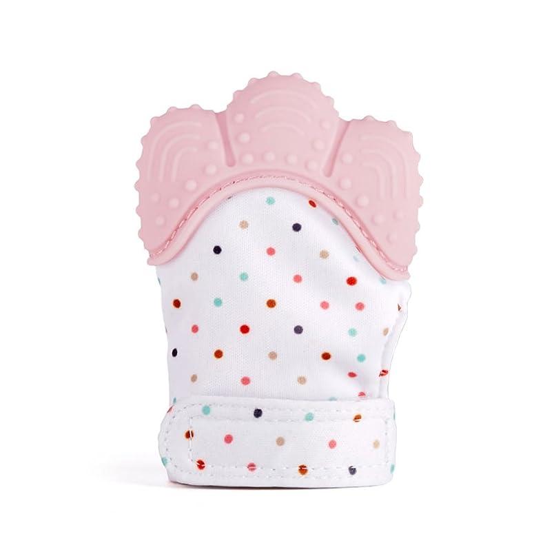 父方のましい適応的LOVART'S BEAUTY ベビー ミトン 引っかき防止 指なし 手袋 赤ちゃん 新生児 3組セット (ネイビー)