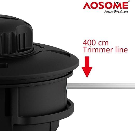 AOSOME ASSP001 Grifo y Vaya-Cabezal para Desbrozadora Gasolina ...