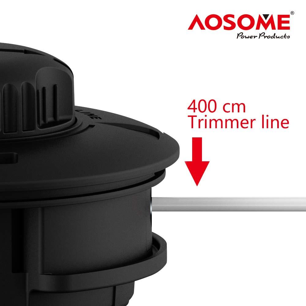AOSOME ASSP001 Grifo y Vaya-Cabezal para Desbrozadora Gasolina Profesional