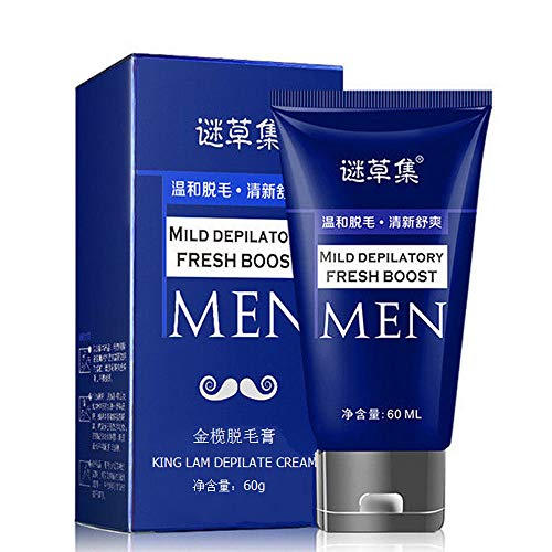 Iulove Man's Permanent Body Hair Removal Cream Hand Leg Hair Loss Depilatory Cream