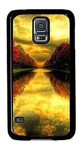 Autumn Beautiful Nature Landscape Theme Samsung Galaxy S5 I9600 Case