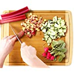 Extra Large Bamboo Cutting Board for Kitchen with Juice Groove - 17.5 x 13.5 x 0.75 inch 11 <p>BEST CUTTING BOARDS FOR KITCHEN & FOR YOUR KNIVES! ❤️Jumbo oversize design bread cutting bosrd cutlery cuttig cutting bords cuttimg curting cuttinf cutting bored mothers day kitchen cuting cutting boad cuttting cutting broad cuttong personalized baboo cutting bpard non slip woodcutting bambo cutting citting cuttibg cutting boarf mothers day cutting briskit cutting cutting valentines day cuttingg cuttng wood cuting wood cutring wood cuttig cutting boads cuttong cuttung wooden cuttin wooden cutting boatd bamboo cuting bamboo cuttimg bamboo cutting bosrd briskit cutting catting chopping light weight chopping one hand cutitng cuttibg cuttign anti slip cutting latge cutting woode cutting xl xxlarge light weight dont slip cutting obard cuttinng cuttung set woden cutting wood cutting biard wooden cuting woodwn cutting cutting baord cutting borad most popular items on amazon todays deals lightning deals cutring toaster ovens best rated cool stuff for women tabla para picar cocina accesorios nsf cutting boatd cutting boar cutting boars heavy duty choice cuttingboard oversized gadget small cuttingboards gadgets xl smart grooved jumbo rv handle inch well usa men green 2018 in inches chicken feet raw oven stuff most ovens utensil legs basics oversize toaster medium free Brisket valentines cuttong cooking platter holder end xxl beech bord dad silent stovetop camper parents voard wood wooden wedding registry by brides name charcuterie butcher block wood cutting kitchen essentials cutting oil noodle huge giant chef carving with juice grooves turkey carving platter turkey carving spikes turkey shaped cutting charturie charqueterie tabla para quesos charcuterie plates outdoor fresh nsf entertaining serving dishes soft 18x13 18 x 13 grilling easy to clean cutting board microbial certified single hand made handmade best heavy duty king camping dad man men vegan bacteria anti mold comercial commercial network handcrafted hand crafted ridged sale seal one piece anti slip LOVE OUR CUTTING BOARDS FOR KITCHEN or YOUR MONEY BACK, Guaranteed! We stand behind our bamboo cutting board 100% If anything is wrong with your heavy duty cutting board Contact Us directly and give us a chance to make it right! 100% SAFE FOR FAMILY! Eco friendly bamboo cutting board with natural antimicrobial properties and already coated with food grade mineral oil. Renewable, formaldehyde-free, BPA free and no chemicals used during production makes this a perfect choice for your family and the environment. Do Not Place In Dishwasher! KNIFE FRIENDLY! Cutting board won't dull your expensive knife set when you carve turkey, chop vegetables, prep steak meat, roast beef, cooking bbq brisket, slice cheese, cut pizza, fish or other cool food meal stuff. Top choice for cutlery utensil as compared to other noodle, teak, hard plastic or thick hardwood end grain cutting block. DEEP JUICE GROOVE! This rectangle turkey carving platter holds up to 2 oz. of liquid keeps juices from spilling all over your kitchenware counter. The oversized bambu drip well catcher is great to cut turkey, chopping juicy veggies or fruit. HAPPY COOKS ranging from home cooks to professional chefs at restaurants, commercial kitchens, caterers and bakeries. Comes in a gift worthy package for mom, perfect for any occasion like Valentines's Day, Thanksgiving, Bridal Shower, Housewarming, Birthday, House Warming Presents search Wedding Registry Ideas by Brides Name.</p>