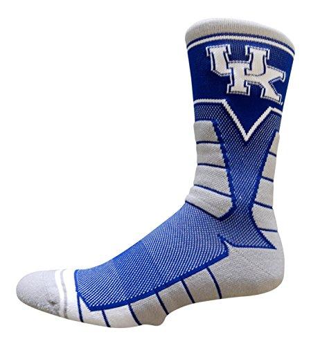 Kentucky Wildcats Performance Socks by Topsox (Sock Size 10-13)