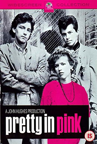 Pretty in Pink Movie POSTER 27 x 40, Molly Ringwald, Andrew McCarthy, B, MADE IN THE U.S.A.