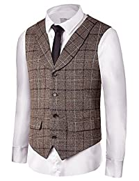 Hanayome Men's Gentleman Top Design Casual Waistcoat Business Suit Vest VS17