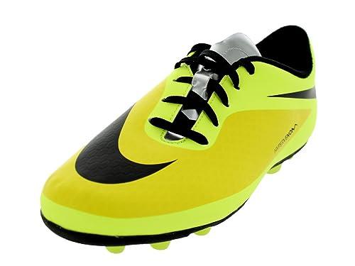 new product 5ee3b a948e Nike Boy's Jr Hypervenom Phade Fg Vibrant Yellow, Black and ...