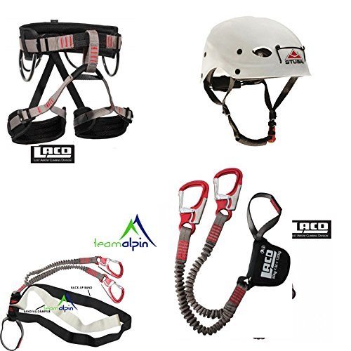 LACD Pro Evo [modèle 2014] + Set de via ferrata LACD Start Sangle + Stubai Fuse Casque