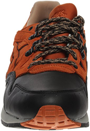 Men Toe Lyte TX Round Gel Black;brown G Red V ASICS Running Leather Shoe fwCxXUTWqc