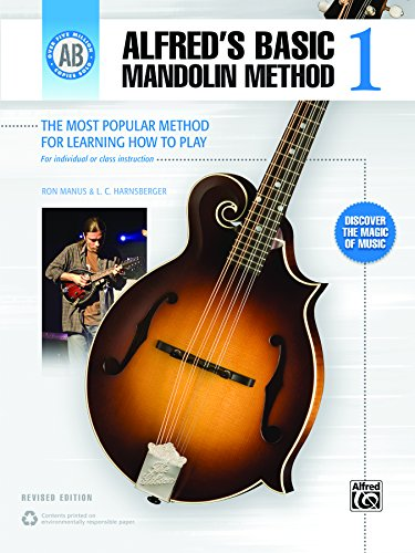 Alfreds Basic Mandolin Method 1 Revised The Most Popular Method